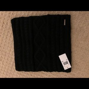 NWT MICHAEL Kors Infinity black scarf